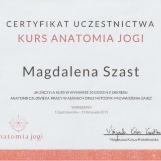 Magdalena Szast dyplom joga