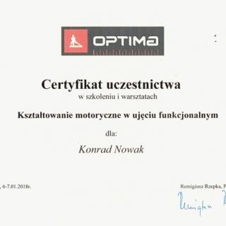 Konrad Nowak Trener Personalny