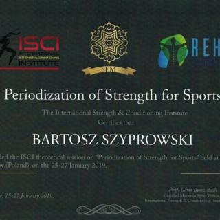 trener personalny, Bartosz Szyprowski