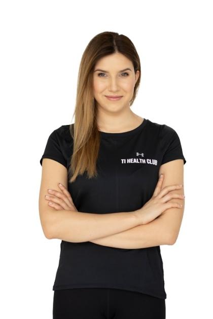 Magda Praga, instruktor fitness