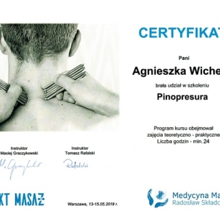 Agnieszka Stefaniak, trener personalny, fizjoterapeuta